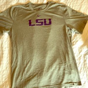 Nike LSU Dr-Fit Short Sleeve Tee
